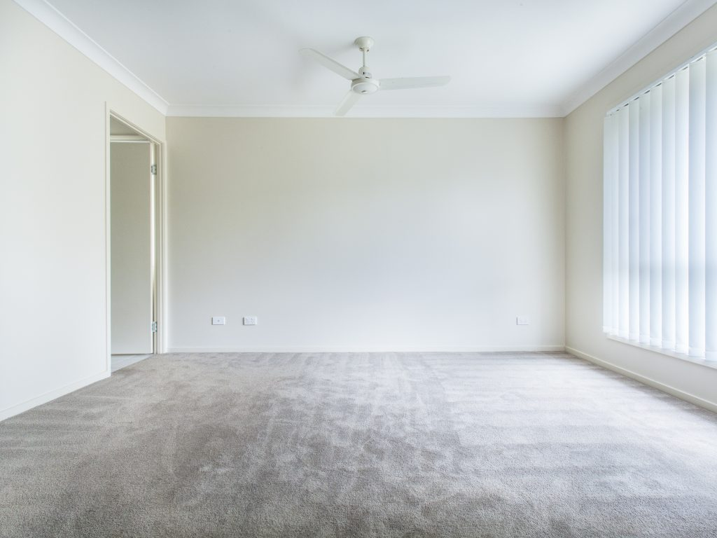 Salt Lake City Carpet Cleaning in empty room