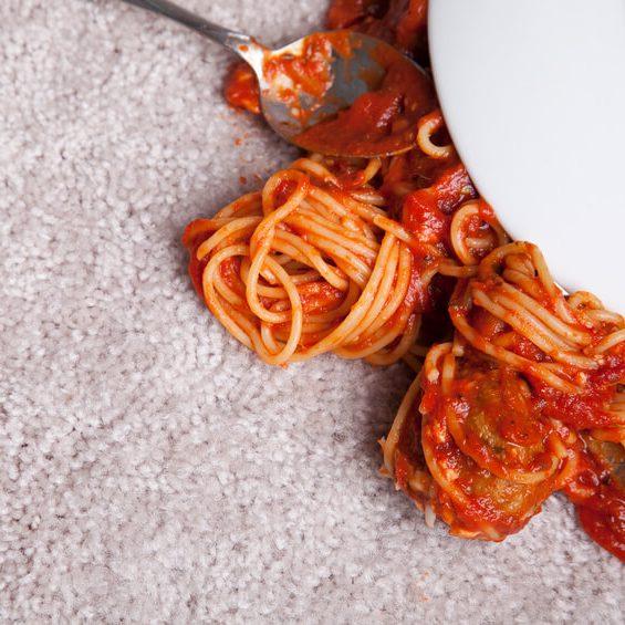 Spaghetti on New Carpet